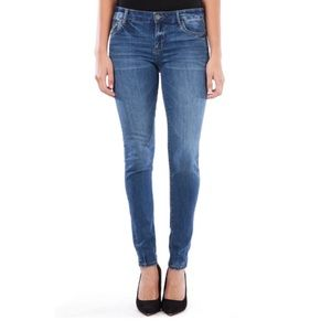 Kut from the Kloth Mia Toothpick Skinny Jeans 12P